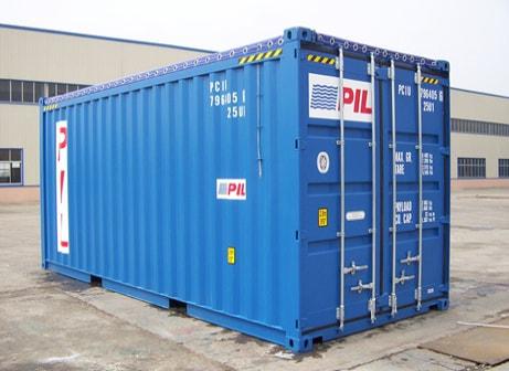 20 футовый морской контейнер c открытым верхом или 20 OpenTop