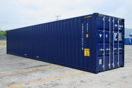 40 футовый высокий морской контейнер High Cube 40' или 40HC