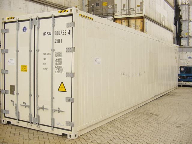 40 футовый высокий рефрижераторный морской контейнер или 40 HCREF